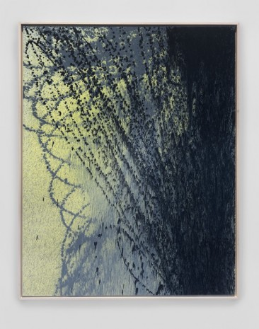 Hans Hartung, T1988-E35, 1988 , Simon Lee Gallery