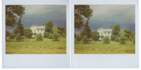 Peter Liversidge, Upstate Polaroids, Lone House, 2011, Sean Kelly