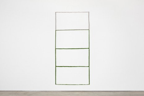 Paul Lee, Untitled, negative (grey, green, green, green), 2013, Stuart Shave/Modern Art