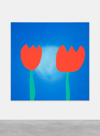 Austin Lee, Tulips, 2018, Peres Projects