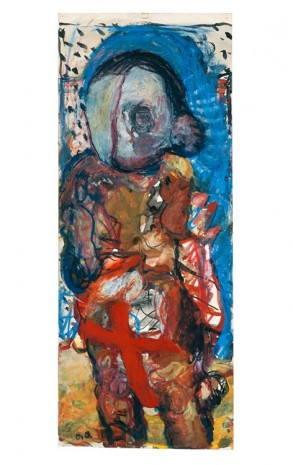 Georg Baselitz, ohne Titel, 1964 , Contemporary Fine Arts - CFA