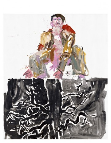 Georg Baselitz, Modern Painter (Remix), 2007, Contemporary Fine Arts - CFA