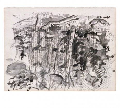 Georg Baselitz, Wald mit Elke, 1970 , Contemporary Fine Arts - CFA
