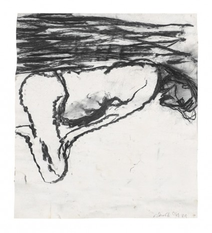 Georg Baselitz, Mann am Strand (Okt.'81), 1981   , Contemporary Fine Arts - CFA