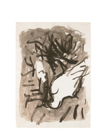 Georg Baselitz, Adler 12.III.1979, 1979, Contemporary Fine Arts - CFA
