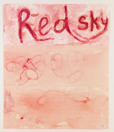Louise Bourgeois, The Red Sky (Detail), 2009, Hauser & Wirth