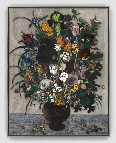 Matthew Day Jackson, A Stoneware Vase of Flowers, 2018, Hauser & Wirth