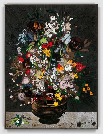 Matthew Day Jackson, Flowers in a Vase, 2018, Hauser & Wirth