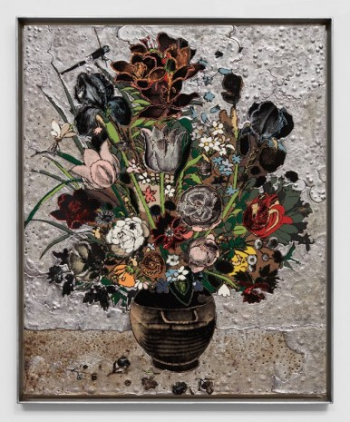 Matthew Day Jackson, Bouquet of Flowers in a Vase, 2017, Hauser & Wirth