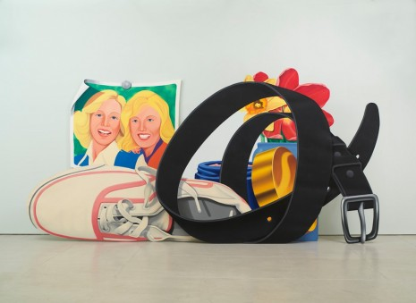 Tom Wesselmann, Still Life with Belt and Sneaker, 1979 - 1981 , Gagosian