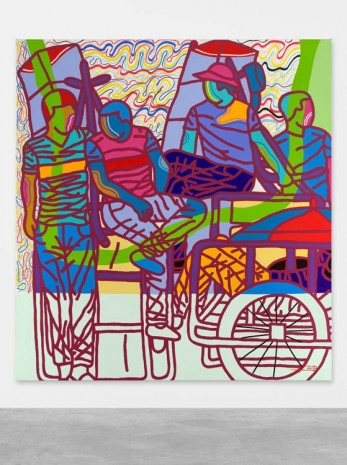 Ajarb Bernard Ategwa, Conversation About, 2018 , Peres Projects