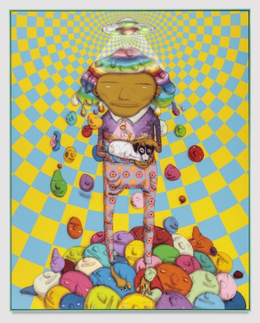 OSGEMEOS, Close Encounter of the First Kind, 2017 , Lehmann Maupin