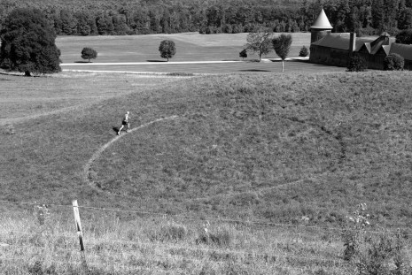 Jeroen Jongeleen, Running A Circle Clockwise, Shelburne Farms, VT, USA, 2015, Harlan Levey Projects