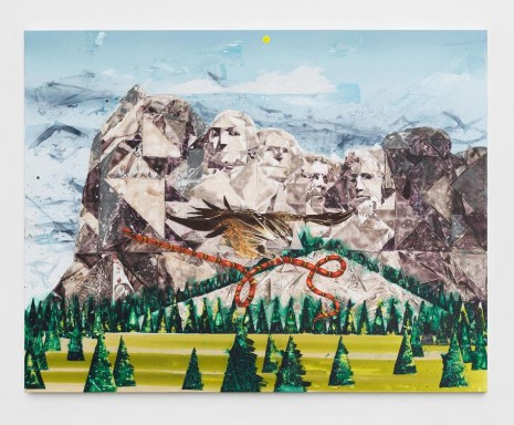Barnaby Furnas, Mt. Rushmore No. 2, 2018 , Marianne Boesky Gallery
