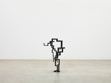 Antony Gormley, CHUTE, 2017 , White Cube