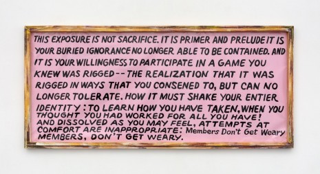 Mandy Harris Williams, PRAYER, 2018, Paula Cooper Gallery