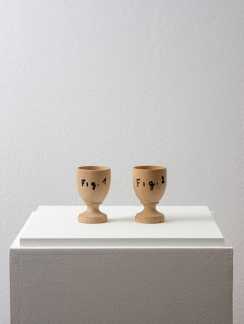 Marcel Broodthaers, Fig.1 Fig.2 , 1972, Galerie Chantal Crousel