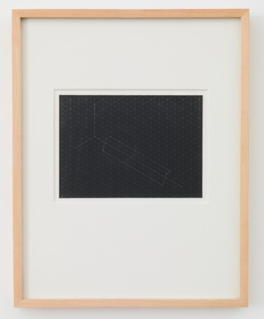 Fred Sandback, Untitled (from Serie von 22 Photostaten/Series of Twenty-two Photostats), 1982 , Cardi Gallery