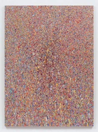Jonathan Horowitz, Leftover Paint Abstraction #1 (75