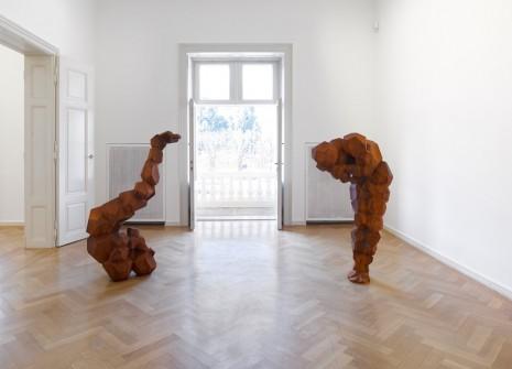 Exhibition Antony Gormley Galerie Thaddaeus Ropac Daily