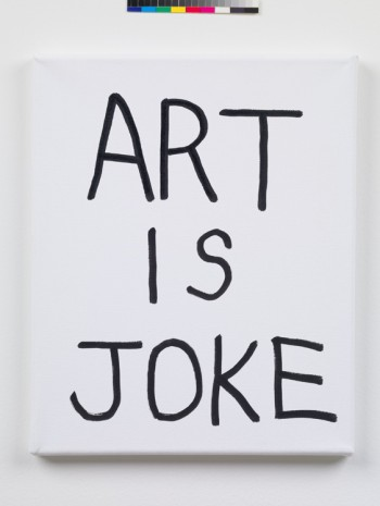 Ken Kagami, ART IS JOKE, 2017, Mendes Wood DM
