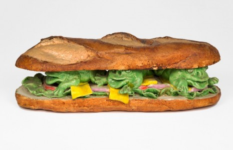 David Gilhooly, Frog Submarine Sandwich, 1975 , Venus Over Manhattan