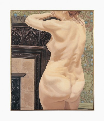 Philip Pearlstein, Female Model Leaning on Mantel, 1974 , Venus Over Manhattan