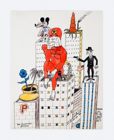 H.C. Westermann, Champion of Justice, c. 1959, Venus Over Manhattan