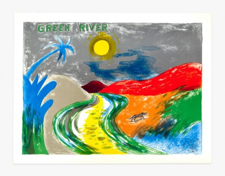 H.C. Westermann, Six Lithographs – Green River, 1972, Venus Over Manhattan