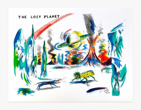 H.C. Westermann, Six Lithographs – The Lost Planet, 1972 , Venus Over Manhattan