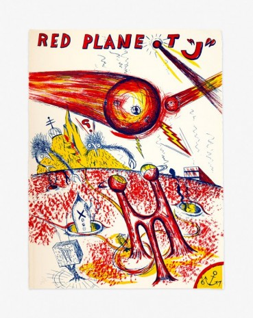 "H.C. Westermann, Red Planet ""J"", 1967 , Venus Over Manhattan"
