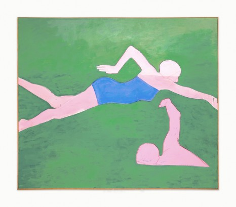Joan Brown, The Swimmers #2 (The Crawl), 1974 , Venus Over Manhattan