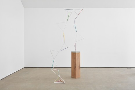 Eva Rothschild, The Leanover, 2018, Modern Art