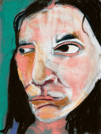Chantal Joffe, Self-Portrait, 2015 , Victoria Miro