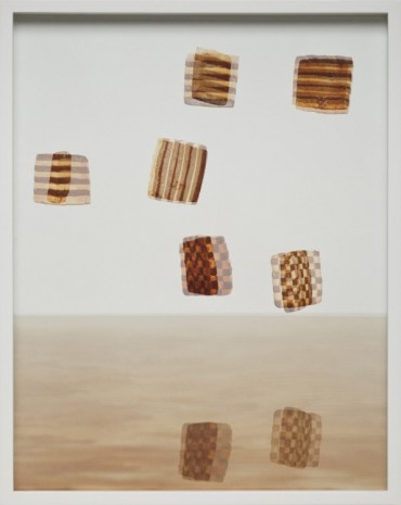 Elad Lassry, Stripes and Boards, 2012, David Kordansky Gallery