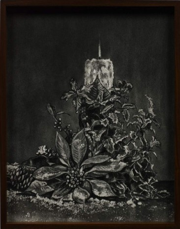 Elad Lassry, Pine cone, Poinsettia, Candle, 2012, David Kordansky Gallery