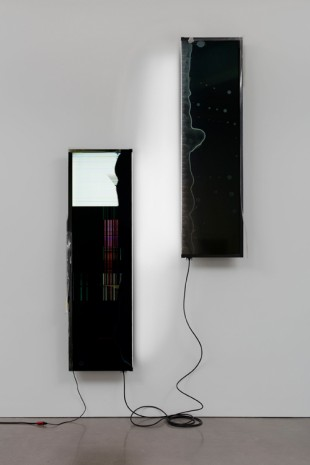 Walead Beshty, Sharp PN-LE901 90-inch HD 1080p LEDbacklit LCD TV, 2018, Regen Projects