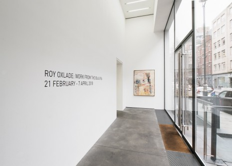 Roy Oxlade Alison Jacques Gallery