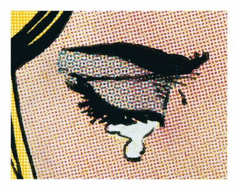 Anne Collier, Woman Crying (Comic) #4, 2018, Anton Kern Gallery