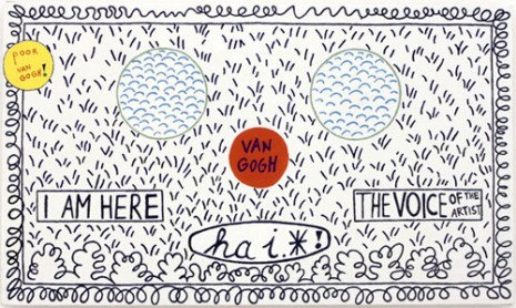Lily Van der Stokker, I am here, 1989, Air de Paris