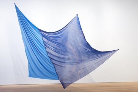 Eric N. Mack, Blue Duet I, 2018 , Simon Lee Gallery