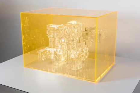 Miguel Chevalier, Méta-cités 2, 2012 , The Mayor Gallery