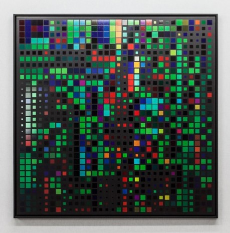 Miguel Chevalier, Mosaïque de Pixels 2, 2016, The Mayor Gallery