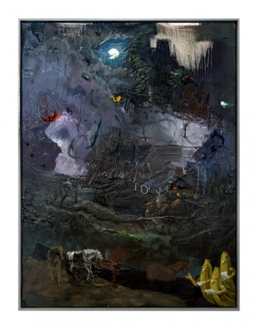 Friedrich Kunath, I Forgot to Mention the Moon, 2018, Tim Van Laere Gallery