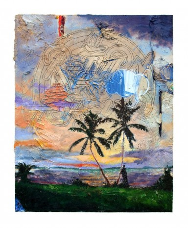 Friedrich Kunath, Return To Forever (Two Palms), 2018, Tim Van Laere Gallery