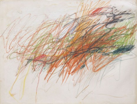 Cy Twombly, Untitled, 1954 , Gagosian