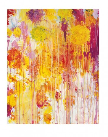 Cy Twombly, Untitled, 2001 , Gagosian