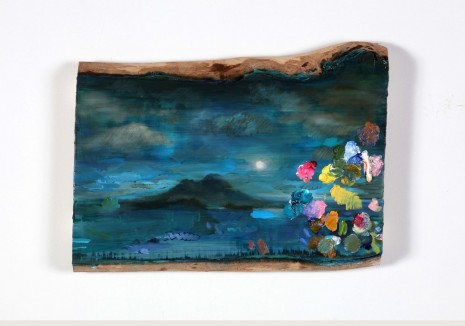 Ida Tursic & Wilfried Mille, Landscape and Vesuvio and moon rise and colours, 2018 , Alfonso Artiaco