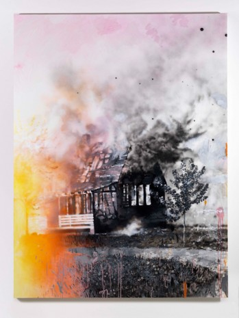 Ida Tursic & Wilfried Mille, House on fire (after Walker Evans 1935), 2018 , Alfonso Artiaco