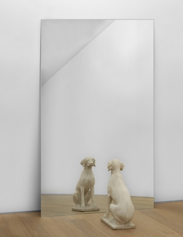 Michelangelo Pistoletto, Cane allo Specchio (Dog at the Mirror), 1971 , Simon Lee Gallery